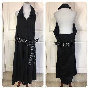 NWT! Lane Bryant halter dress